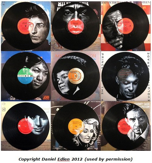 Remaking old records into art musicstack 39 s guide to for Things to make with old records